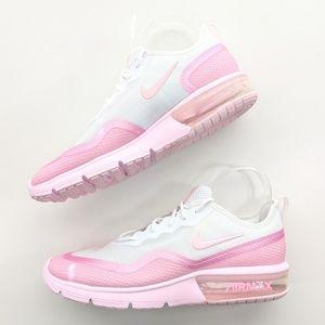 Nike Air Max Sequent 4.5 PRM White/Pink Foam NIB